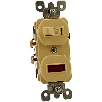 41ktIxxP11L._SL500_AC_SS350_ leviton 5226 w 15 amp, 120 volt, duplex style single pole, neon leviton 5226 wiring diagram at nearapp.co