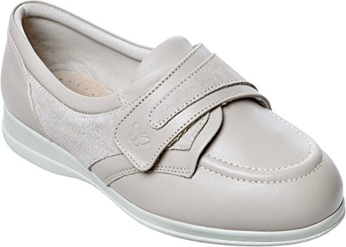 Debbie Stone Suede Shoes Trim Fitting 6E Leather Cosyfeet Width With Extra Roomy 0Tnvnwqd