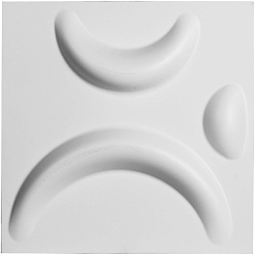 Ekena Millwork WP12X12SEWH Seville Design Decorative 3D Wall Panel White
