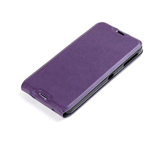 Manyip Funda Alcatel One Touch iDol 4,Caja del teléfono del cuero,Protector de Pantalla de Slim Case Estilo Billetera con Ranuras para Tarjetas, Soporte Plegable, Cierre Magnético(JFC4-4) B