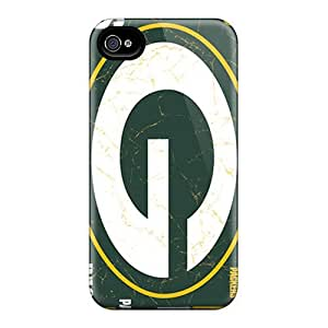Defender Case With Nice Appearance (green Bay Packers) For Iphone 4/4s