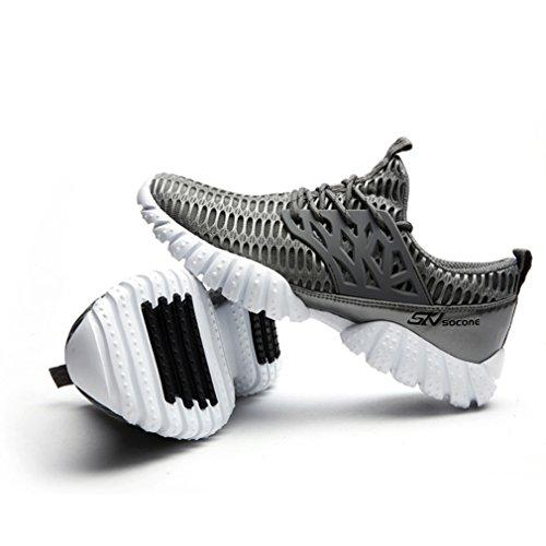 Unisex de bajo adulto botas oscuro caño gris LFEU S4I5vwq