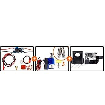 Impresora 3D Hotend V5 V6 HOT END kit de actualización de bloque ...