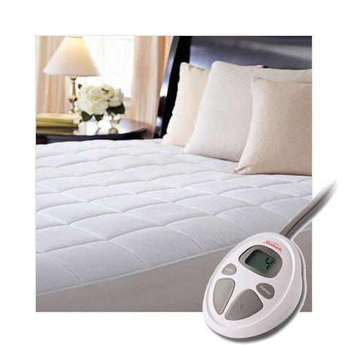Sunbeam Luxury Quilted Electric Heated King Mattress Pad COMIN18JU059719