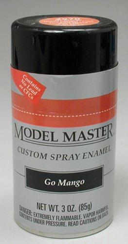 Testors Model Master Automotive Enamel Go Mango Spray 1:0 Scale   B004GJDWJW