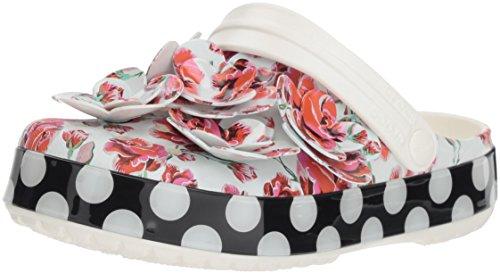 Timeless Crocband Clash Women's Floral Roses Crocs Dots Clog fBTE5xnwq7