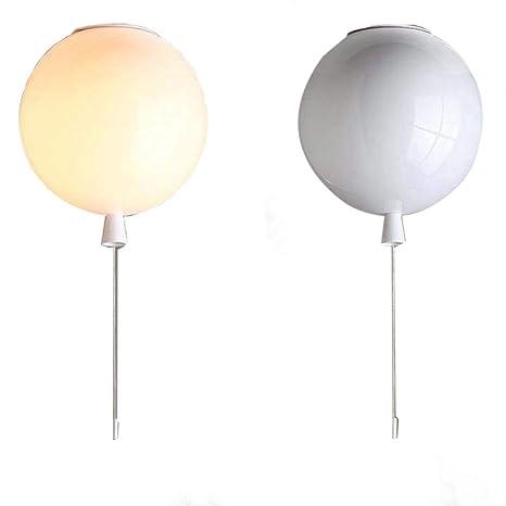 Color de la luz del techo del globo, la lámpara de techo de ...