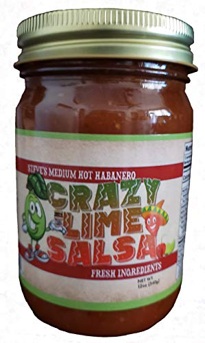 Medium Hot Habanero Crazy Lime Salsa ()