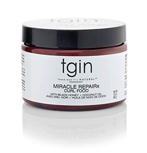 tgin Miracle RepaiRx Curl Food Daily Moisturizer For Natural Hair - Dry Hair - Curly Hair- 12oz