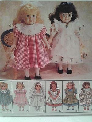 "Crafts Pattern 9207 ~ Clothes for 18"" Dolls"