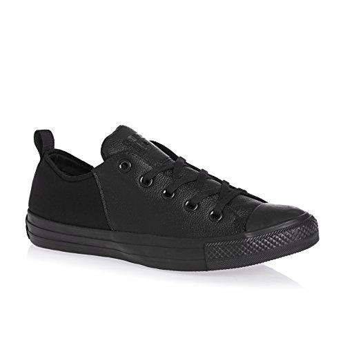 Converse All Star Abbey Monochrome Black Womens Trainers Black