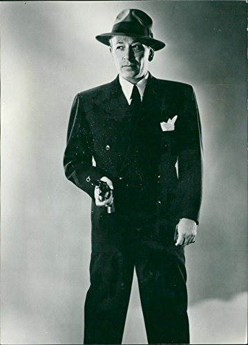 Vintage photo of An early photograph of actor George Raft