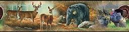 RoomMates RMK1086BCS Wildlife Medley Peel & Stick Border