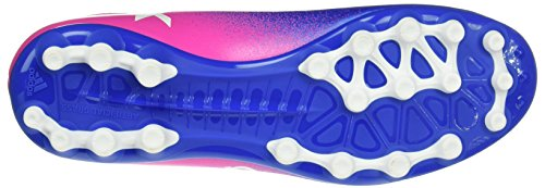 adidas Herren X 16.3 AG Fußball-Trainingsschuhe Blau (Blue/ftwr White/shock Pink)