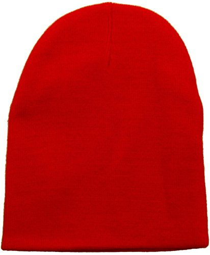 Red Winter Beanie - 7