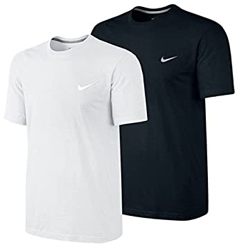 f773c0eb Nike New Mens T Shirt Retro Gym Sports Tee T-Shirt Vintage BLACK WHITE Top  Size S-XL 546404 (Medium, Black): Amazon.co.uk: Clothing