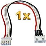 VUNIVERSUM 4X St/ück JST-XH Premium 2S 3Pin Balancerkabel je 20cm Kabel Verl/ängerung Ladekabel XH Stecker auf Buchse 24AWG Adapterkabel Lipo Akku von Mr.Stecker Modellbau/®