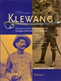 img - for Klewang: Catalogue of the Dutch Army Museum book / textbook / text book