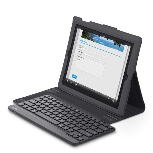Belkin Keyboard Folio Case with Keyboard and Retina Display for Apple iPad 2: 2nd, 3rd, and 4th Generation (Red)