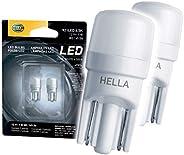 Hella 921LED6.5K Kit de Focos LED con Instructivo Gráfico de Montaje, Cool White, 2 Cuentas, color 6, 5000 Kel