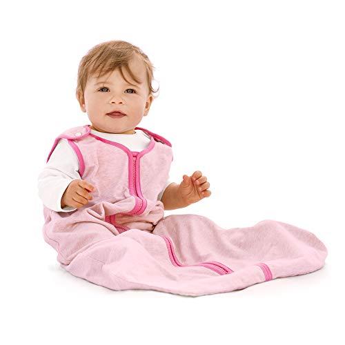 baby deedee Sleep Nest Lite Sleeping Bag Sack, Heather Pink, Small (0-6 Months)