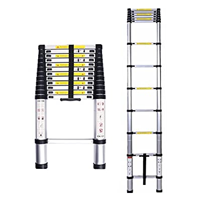 Lifewit 12.5ft Telescoping Ladder TelescopicExtension Multi Purpose Ladder 330-pound Capacity, Aluminum