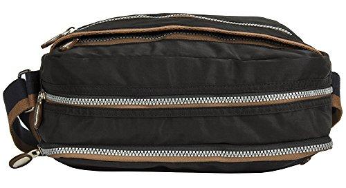 Bolso mujer Shop Taupe para Style de de tela 3 asas Handbag Big q48xO4E