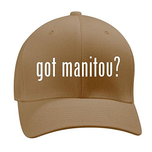got manitou? - A Nice Men's Adult Baseball Hat Cap, Khaki, (Manitou Rear Shocks)