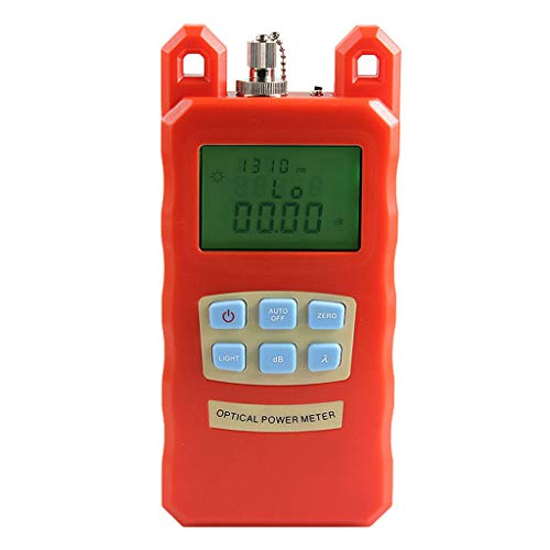 Baosity Portable Optical Fiber Power Meter Tester Measure -70dBm~+10dBm and 30mW 10-30KM Visual Fault Locator Fiber Tester Detector Meter by Baosity (Image #8)