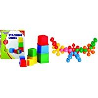 Funskool Giggles Stacking Cubes + Kiddy Star Links