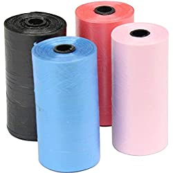 HIGHUP Pooper Scoopers & Bags - Garbage Bags per roll Dogs Cats Pooper Bags Biodegradable Garbage Pet Dog Waste Bags Dog Cat Cleaning Up Refill Garbage Bag 1 PCs