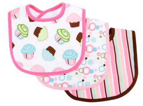 Trend Lab Count Bib Cupcake
