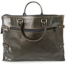 Balinese Leather Business Day Bag