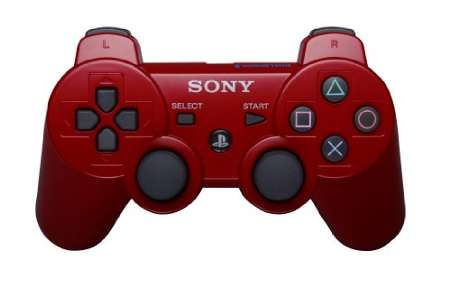 - PlayStation 3 Dualshock 3 Wireless Controller (Red)