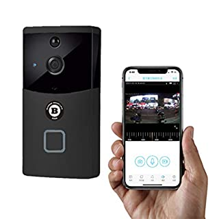 Video Doorbell with HD Video, Motion Activated Alerts WiFi Cam Smart Doorbell