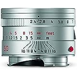 Leica 11681 Summarit-M 50mm/f2.4 Normal Lens, Silver