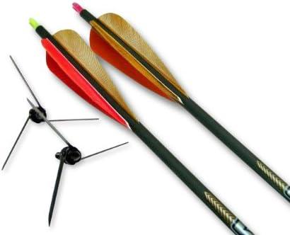"New Magnus Bullhead 125 Grain 3 Blade Turkey Broadhead 3 3//4/"" Cutting 3 Pack"