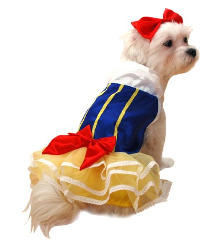 Anit Accessories Snow Princess Dog Costume, 8-Inch, My Pet Supplies