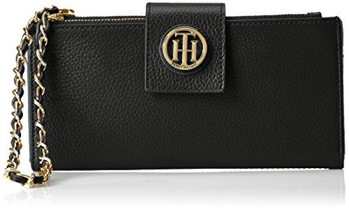 Tommy Hilfiger Double Leather Wristlet