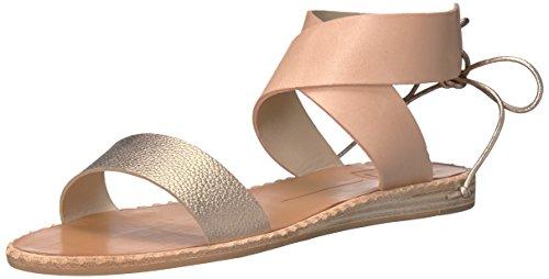 Dolce Vita Kvinnor Pomona Platt Sandal Koppar Läder