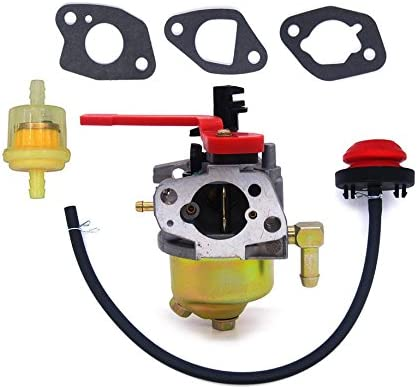 amazon.com: hifrom carburetor with fuel filter primer bulb replacement for  troy bilt mtd craftsman snow blower 751-10956a 951-10956a 751-10956  951-10956: home & kitchen  amazon.com