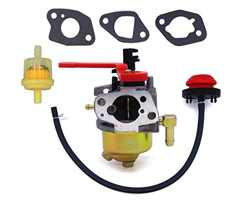 carburetor with fuel filter primer bulb for troy bilt mtd. Black Bedroom Furniture Sets. Home Design Ideas
