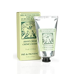 Pre de Provence Men's Shave Cream, Enriched With Natural & Repairing Shea Butter (2.5 fl oz)