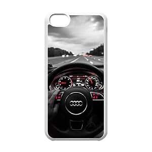 iPhone 5C Phone Case White Audi TYTH3762444