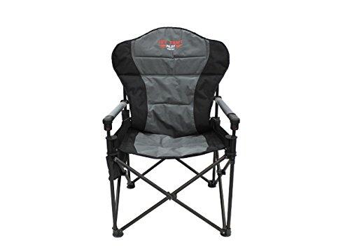 Jet Tent Pilot Chair DLX Padded Adjustable Lumbar Support
