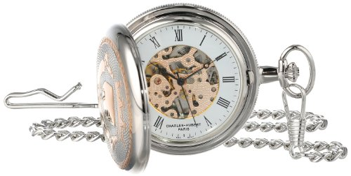 Charles-Hubert, Paris 3822 Two-Tone Mechanical Pocket Watch