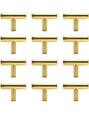 12 stuks ladeknoppen T-handgrepen voor keukenkasten, T-greep, keukenkastgreep, T-greep, keukenkast, keukenkast, meubelgreep