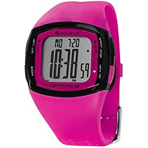 Soleus Women's SH010-611 Pulse Rhythm Digital Display Quartz Pink Watch