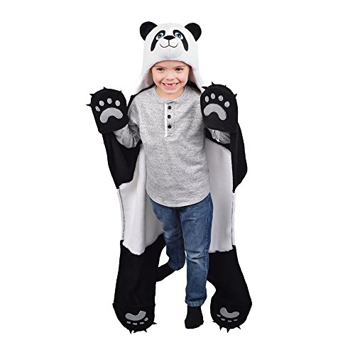 - Fin Fun Bam Bu Panda Bear Wearable Hooded Blanket by Wild Things