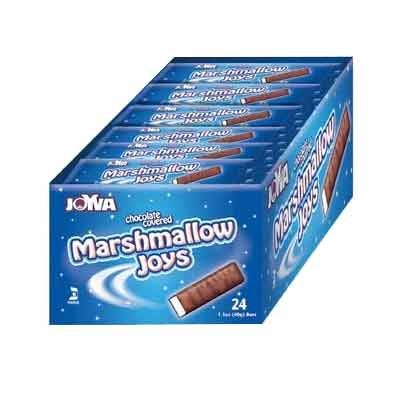 Joyva Chocolate Covered Marshmallow Joys (24 count) by Unknown